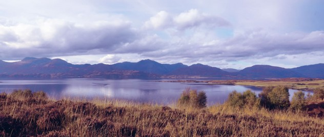 View of Loch Linnhe from Keil Hill nature reserve