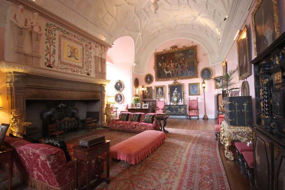 Drawing room at Glamis