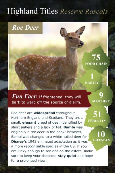 reserve rascals roe deer