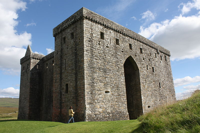 Hermitage Castle, Scottish Borders, Scotland.