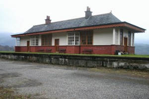 Creagan_Railway_Station, Ballachulish railway