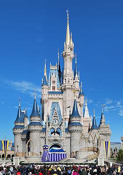 Scots Baronial - cinderella Castle Disneyland