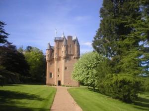 Scots Baronial craigeivar Castle,