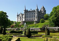 Scots Baronial revival - Dunrobin Castle