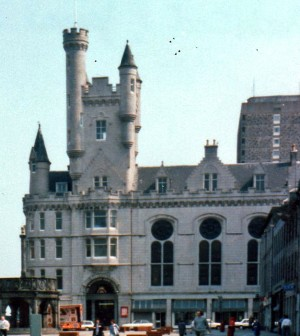 Scots Baronial revival - Salvation Army Citadel