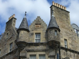 Scots Baronial, victorian tenements