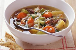 Scottish soup - scotch broth