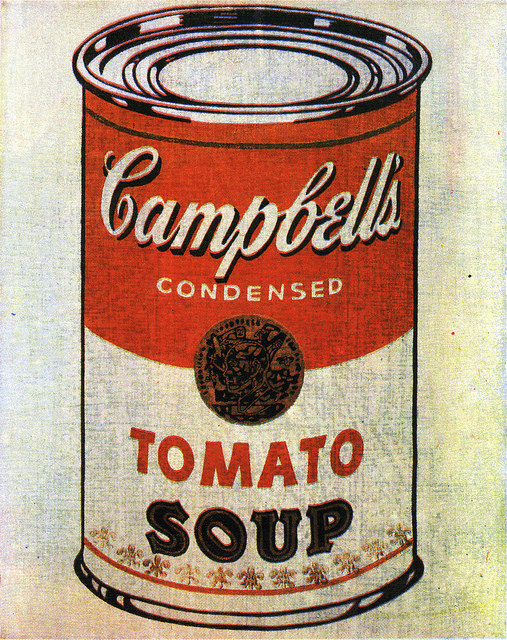 Andy Warhols Campbell's Soup Cans