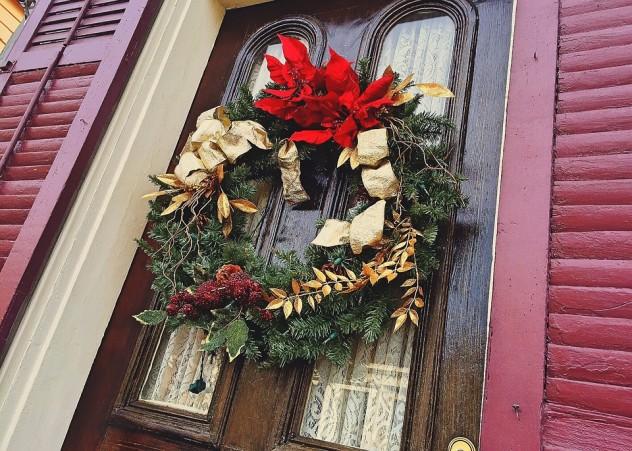 Scottish wreath