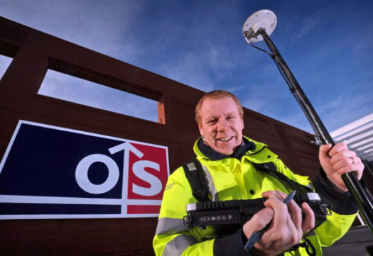 UK's Ordnance Survey Professional Mapping
