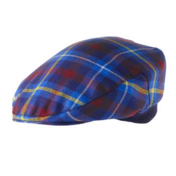 Fine Wool Tartan Cap