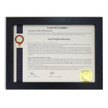 Wooden Certificate Frame