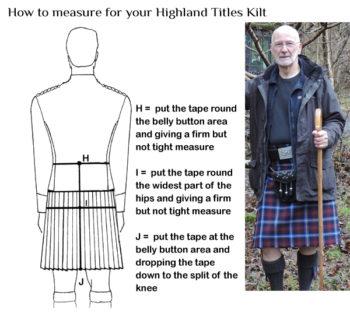 Highland Titles Traditional Kilt
