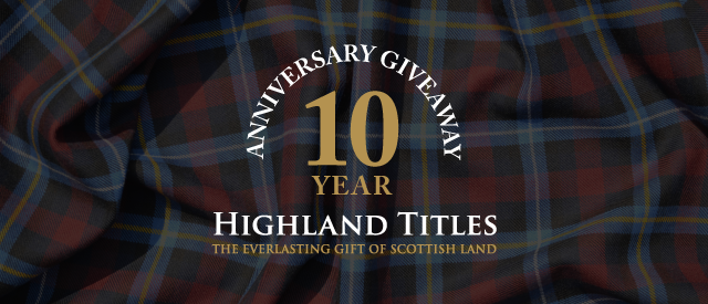 Highland Titles 10 Year Anniversary Giveaway!