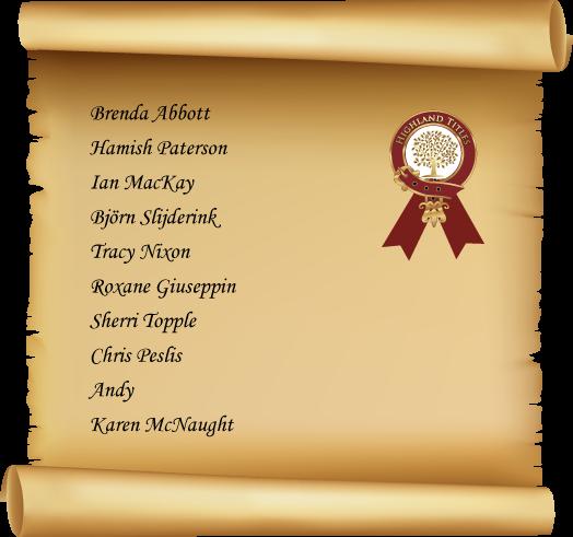 Winners-scroll