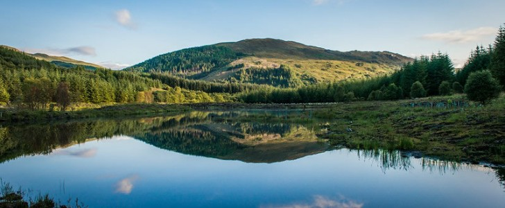 highland titles nature reserve lochan