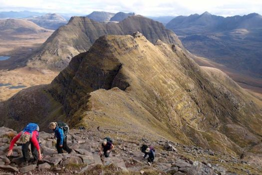 Hill Walking in the Scottish Highlands