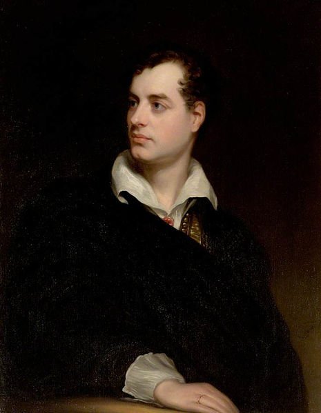 Portrait of Lord Byron, by Thomas Phillips