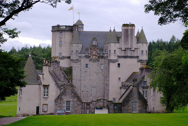 Castle Fraser in Aberdeenshire