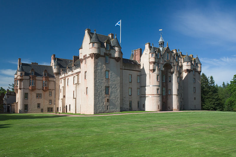 Fyvie Castle, near Turriff in Aberdeenshire