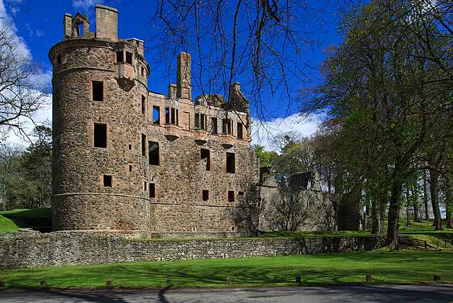 Huntly Castle, Aberdeenshire