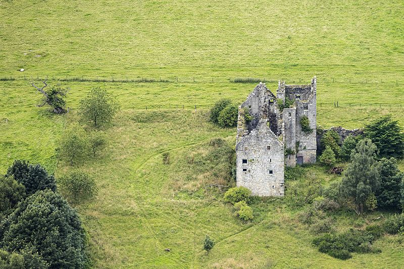 Aerial View of Torwood Castle