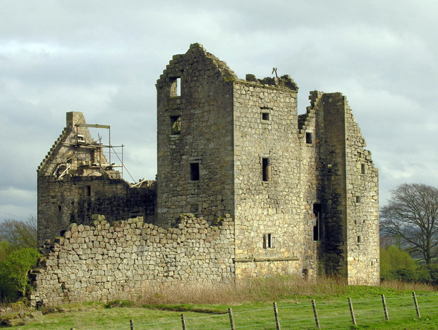 Torwood Castle ruin