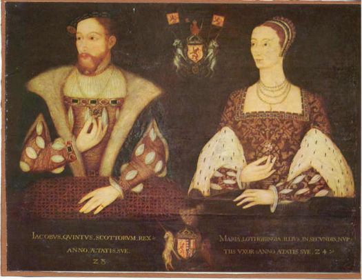 James V Stuart, King of Scots, and Marie of Guise-Lorraine