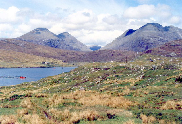 The mountains of North Harris, Outer Hebrides