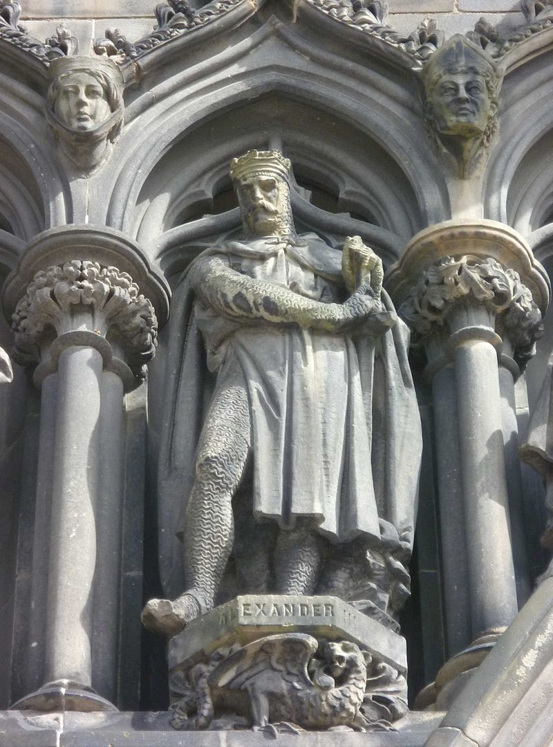 Statue of Alexander III in St. Giles, Edinburgh