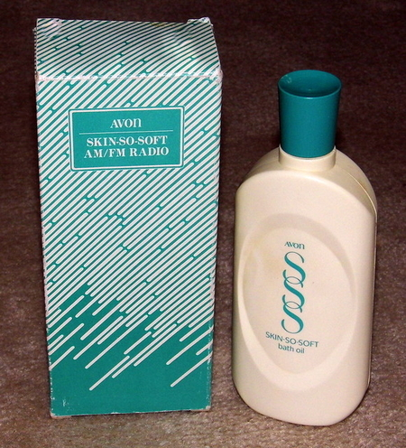 Vintage Avon Skin-So-Soft Bath Oil