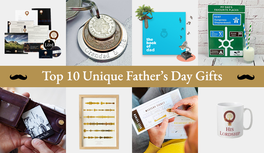 Top 10 Unique Father's Day Gifts