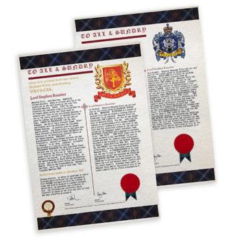 Award of Arms
