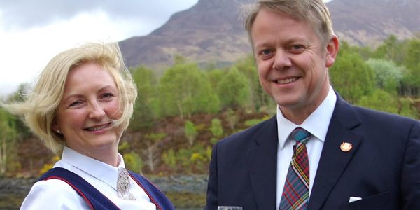 Couple of Lord and Lady of Glencoe