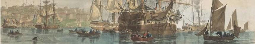 Emigrants arriving in Australia. Sydney Cove, 1853