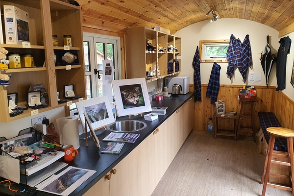 Reception at Glencoe Wood Nature Reserve