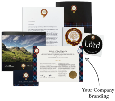 Highland Titles Corporate Gift Pack