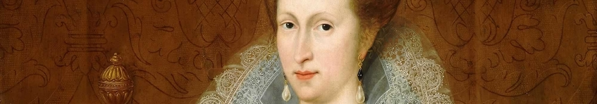Portrait of Anne of Denmark, Queen consort of Scotland, England, and Ireland