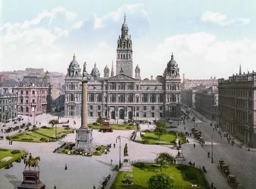 Die George Square in Glasgow