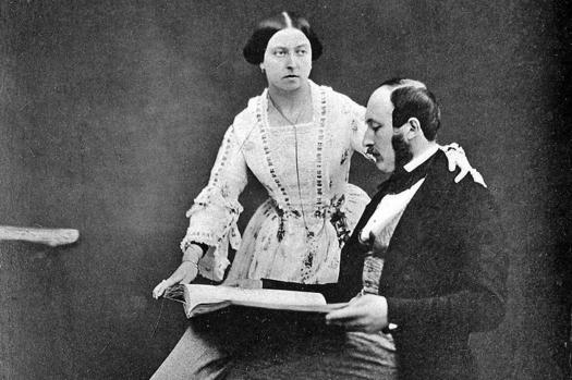 Königin Victoria und Prinz Albert, 1854