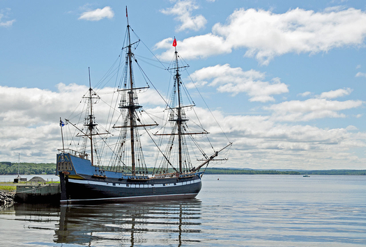 2000 replica of the ship Hector
