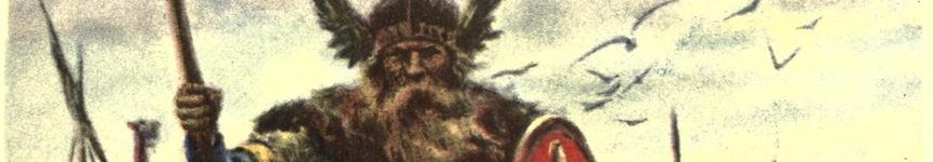Illustration of a Norwegian Viking