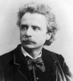 Portrait of Edvard Grieg