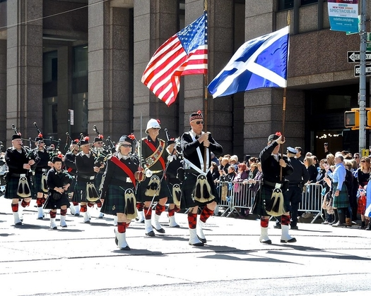 Tartan Day Parade in the US