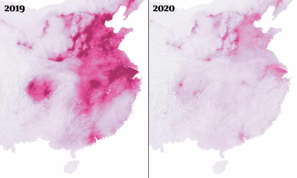 Pollution Levels in China