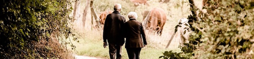 Older Couple Enjoying Nature