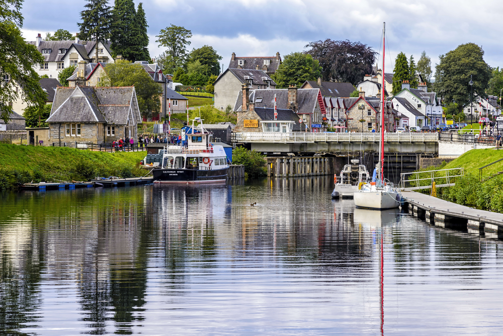 Fort Augustus - Caledonian Canal