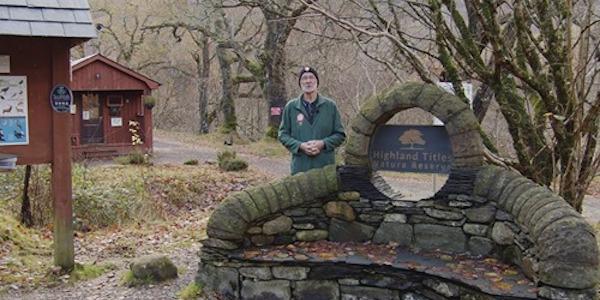 Stewart sur la Réserve Naturelle