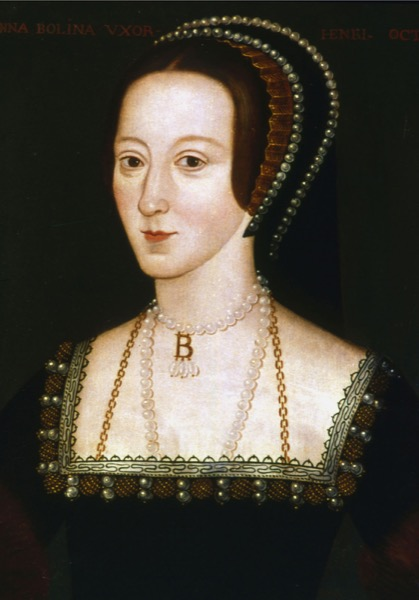 Picture above: Anne Boleyn