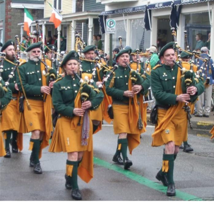 Pictured: The Irish Emerald Kilt